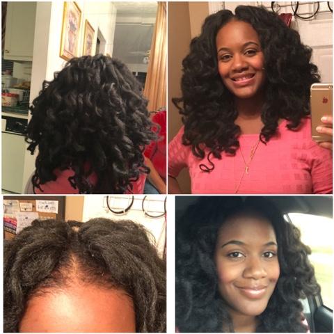 Afrodeshiakthe Kinky Life Crochet Braids With Cuban Twist Hair