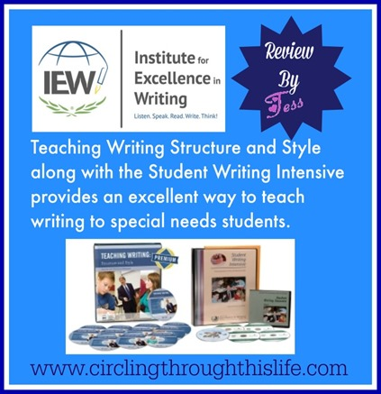 TWSS and SWI together form a solid foundation to teach writing skils to all students but is easily adapted for special need learners.