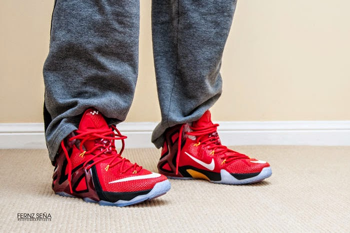 Nike LeBron 12 Elite Team Collection University Red