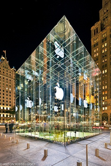 apple store @ 5th Ave, nyc - Bohlin Cywinski Jackson Architects