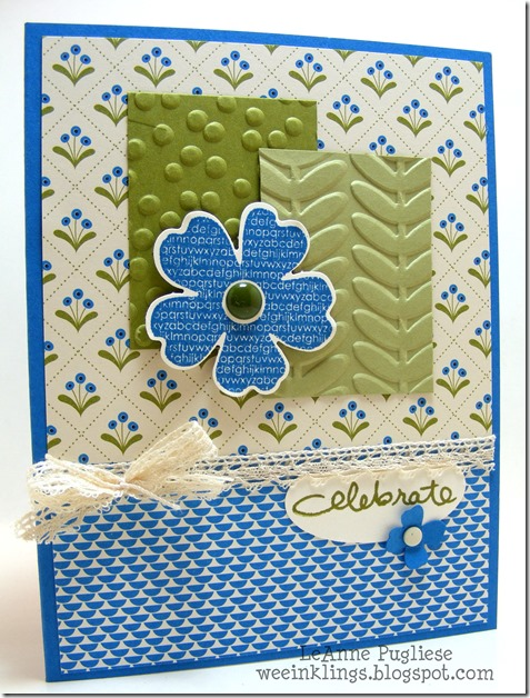 LeAnne Pugliese WeeInklings TSOT244 Endless Birthday Wishes Flower Shop Stampin Up