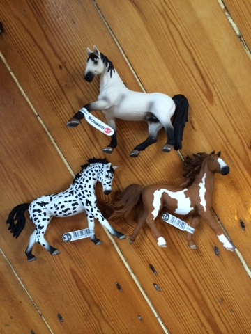 Schleich Farm Life Horses Collection