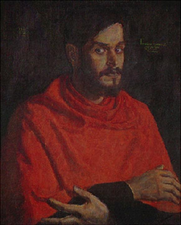 Auto-retrato Como Cardeal Inquisidor - Francisco Brennand