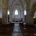 Église Saint-Germain de Charonne :  nef et choeur