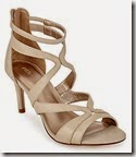 Marks and Spencer beige strappy sandal with Insolia