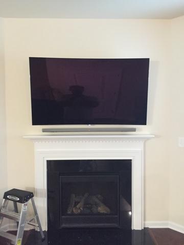 Tv Wall Mounting Charlotte Nc Curved 4k Ultra Hd