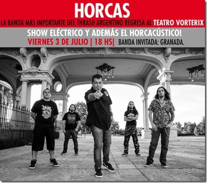horcas 3 julio