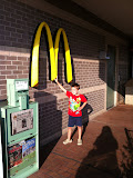 Bryan at a McDonald's in Branson MO 08192012