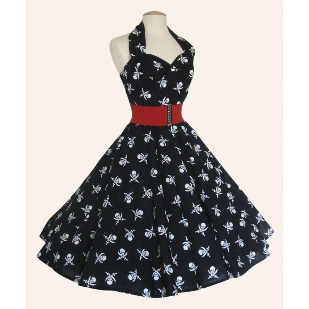 1950s Halterneck Retro Fabric