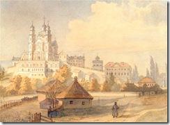 pic-S-H-Shevchenko_Taras_Pochaiv_Monastery_1846