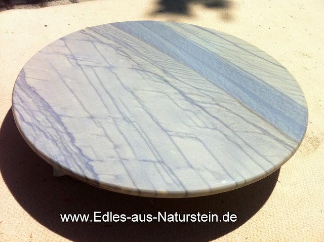 Azul Macaubas runde Couchtisch Platte Beistelltisch