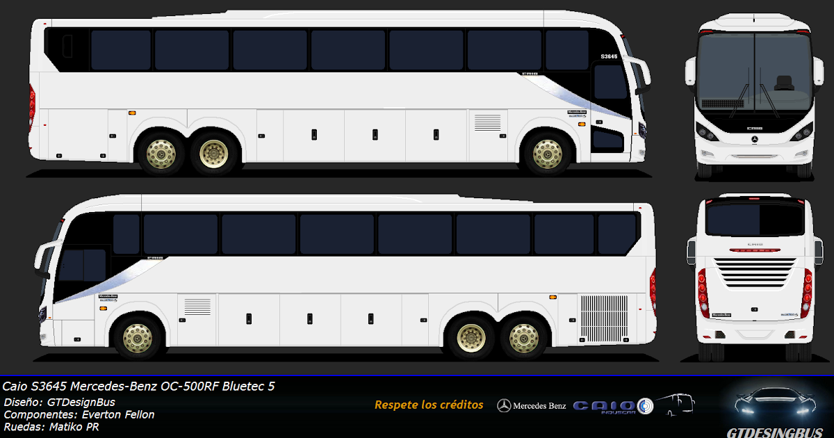 Bases chile caio s3645 y s3436 mercedes benz oc 500rf for Mercedes benz oc