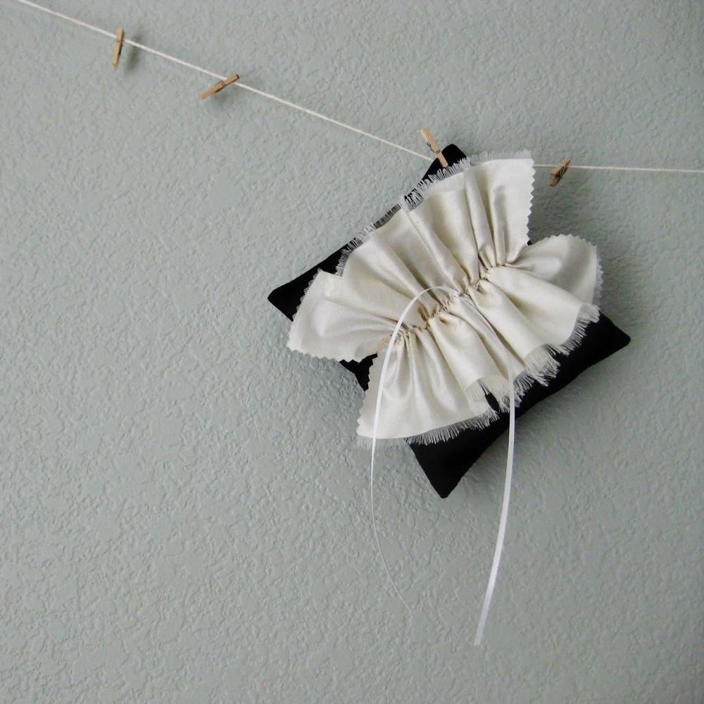 Tuxedo Wedding Ring Pillow