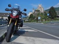 Das Castello di Saint-Pierre im Ort Saint-Pierre im Aostatal.