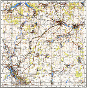 Map 100k--m36-115--(1992)