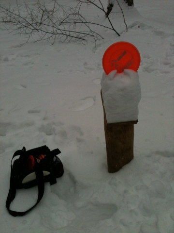 Snow Disc Golf Prater