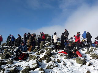 Everyone gathers at the summit