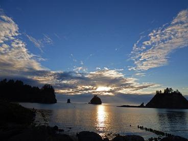 La Push Ocean Sunset