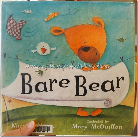 Preschool Alphabet: B is for Bear