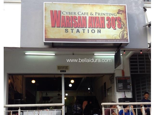Cafe Warisan Ayah 3Q'S Station - Sedapnya !!