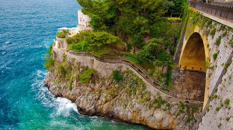 Фуроре (скрытый пляж) - Италия