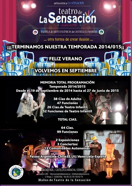 CARTEL FIN DE TEMPORADA 2014-015