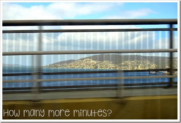 How Many More Minutes? ~ Hobart, Tasmania: Mt Wellington