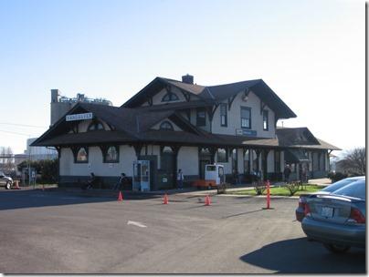 IMG_5127 Amtrak Station in Vancouver, Washington on January 17, 2009