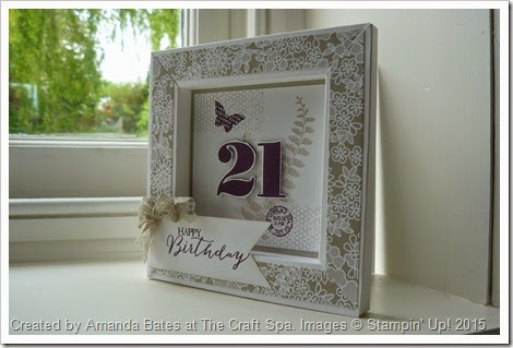 The Craft Spa - Stampin\' Up! UK independent demonstrator : Butterfly ...