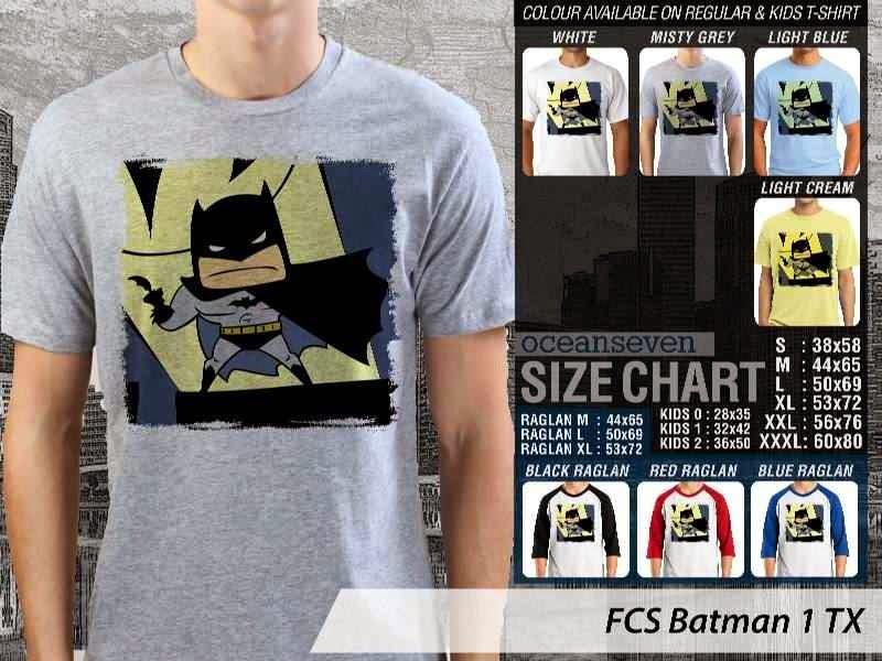 Kaos Superhero Lucu Batman 1 Batman distro ocean seven