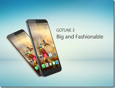 Gotune 3, Penantang Zenfone Go dengan RAM 1GB