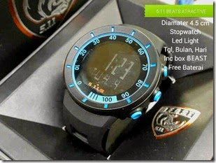 jam  kw merk Black list Blue