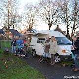 Opnames voor de Kerstbus van RTV Noord in Oude Pekela - Foto's Teunis Streunding