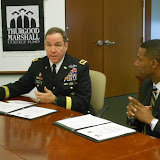 2011 US Army And TMCF Commemorate Partnership with Memorandum of Understanding