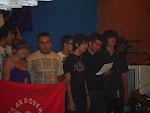 Actuación del Clan de Rovers Benahoare