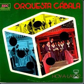Orquesta Cábala (portada)