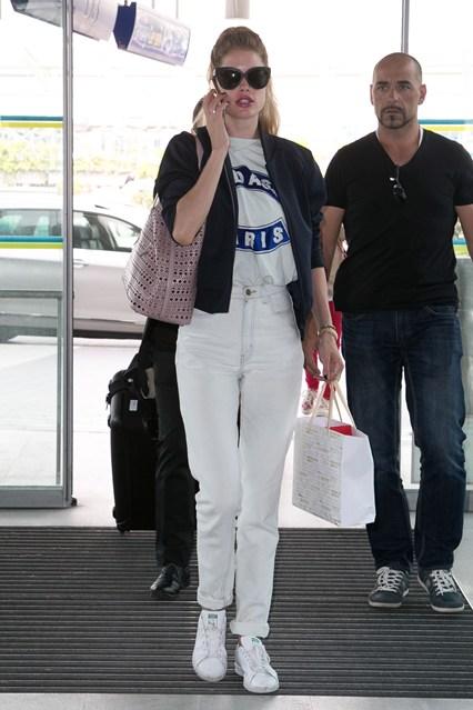 mac quan jeans nu trang dep nhu Doutzen Kroes