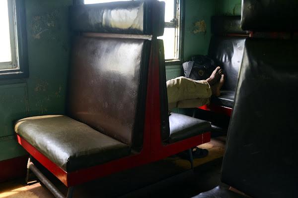 Внутри поезда, Шри Ланка