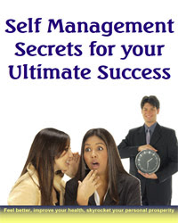 Cover of Helene Malmsio's Book Self Management Secrets For Your Ultimate Success