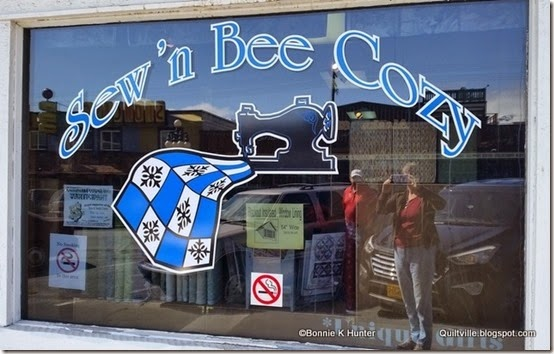 Quiltvilles Quips Snips A Visit To Sewn Bee Cozy