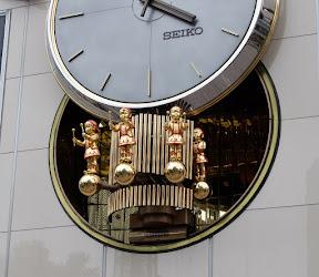 有楽町マリオンのからくり時計