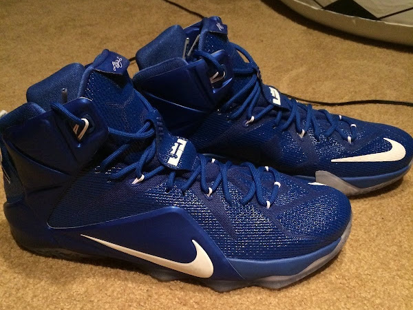 Nike LeBron 12 Kentucky Wildcats Away PE Available on eBay
