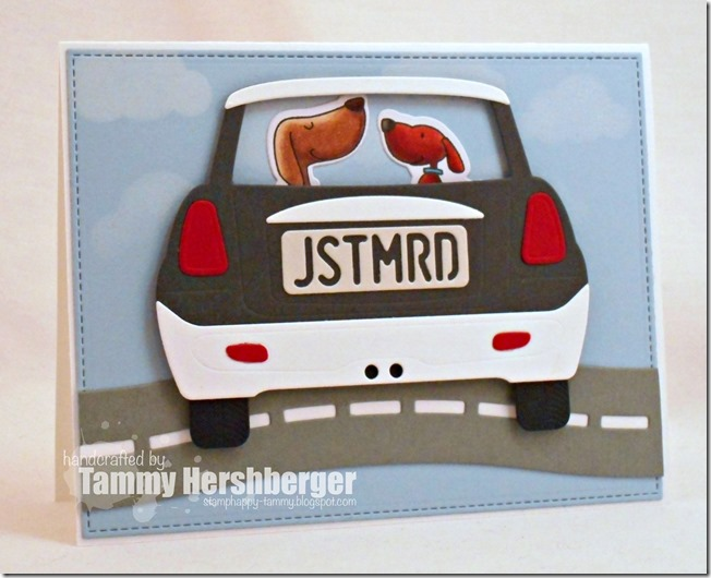 Just Married Pooches by Tammy Hershberger