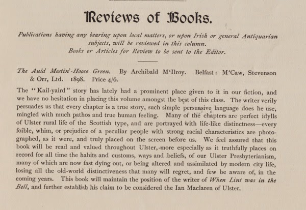 McIlroy Review 3 UJA 1899