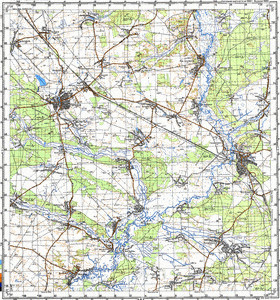 Map 100k--m36-004--(1986)