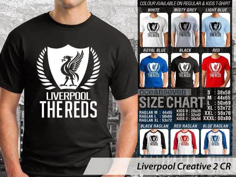 KAOS Liverpool 13 Liga Premier Inggris distro ocean seven