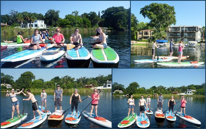 Paddle boarding1