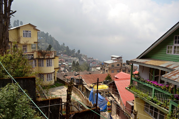 Darjeeling дарджилинг панорама
