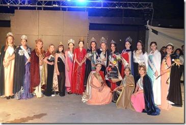 La elección de la reina coronó los festejos en San Clemente