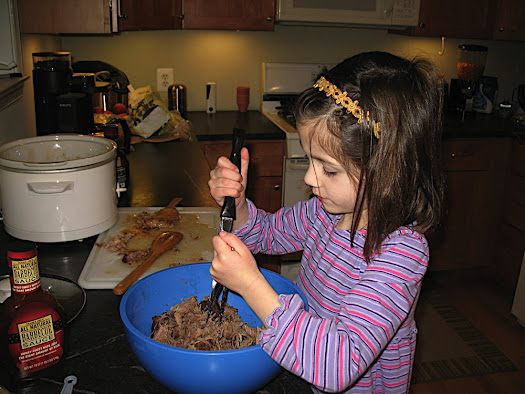 Cooking with Little Kids